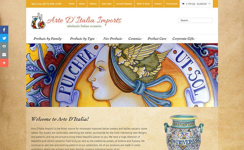 Arte D'Italia Imports