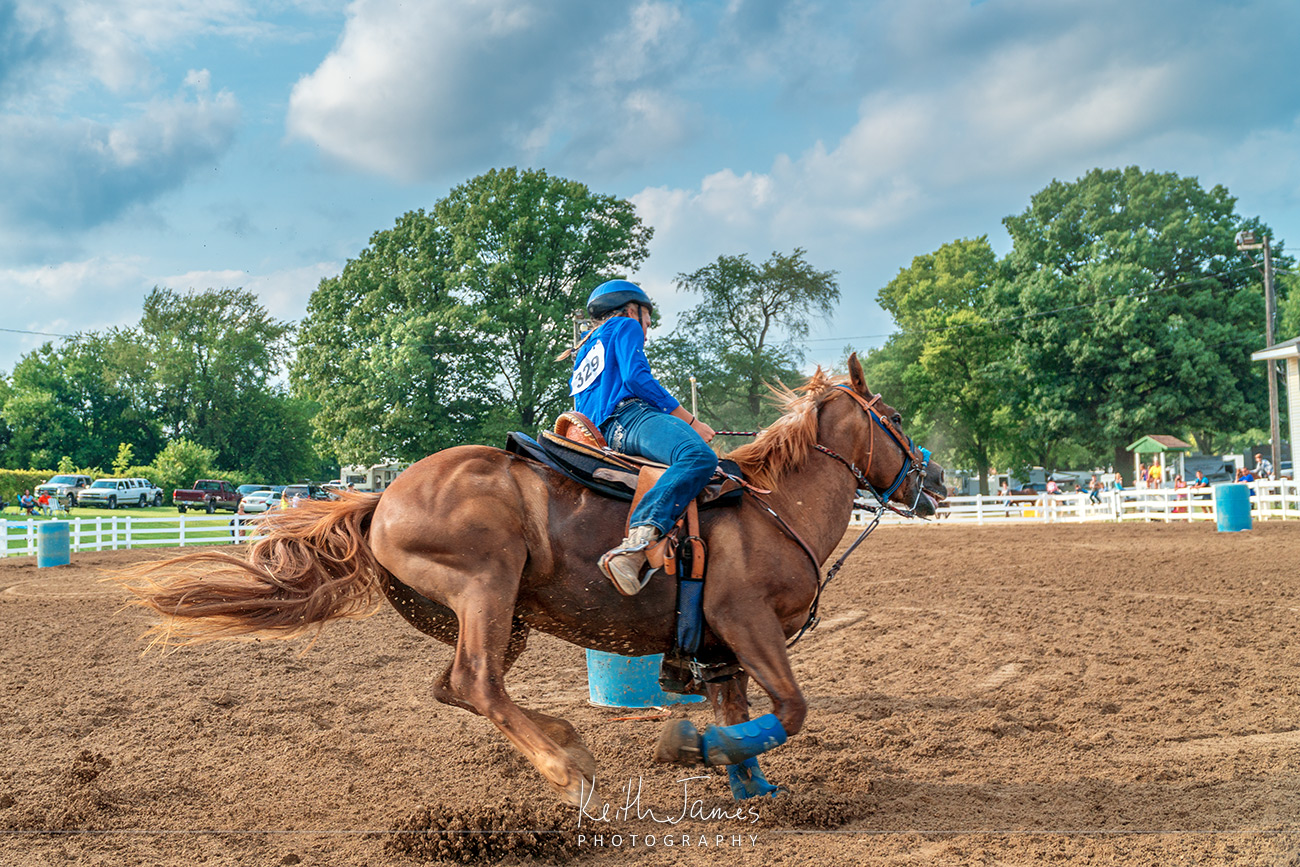 Event Photography: Barrel Racing