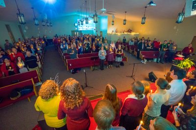 Event Photography: Christmas Eve Service