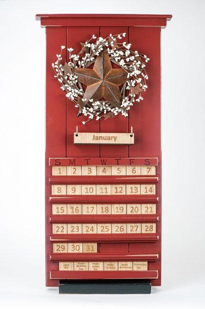 Perpetual Calendar from AmishWorkshops.com