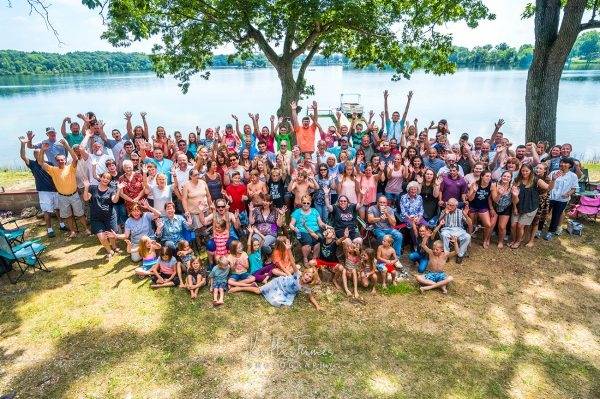 Event Photography: Church Picnic Group Photo