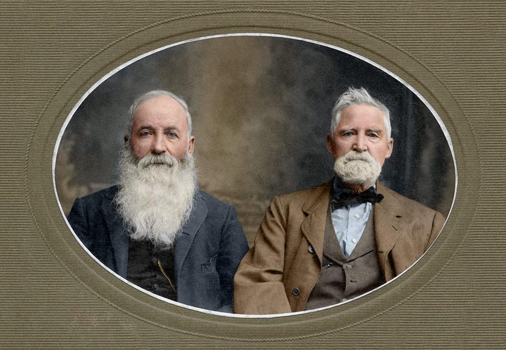 Leander & Nathaniel Eagles, circa 1911
