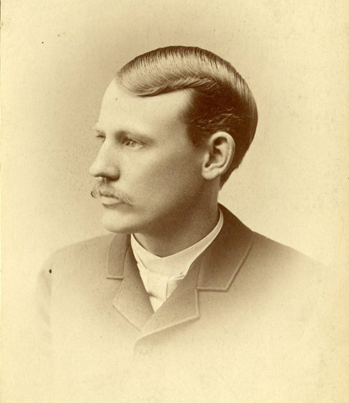 Melvin Bothwell, 1885 (before restoration & colorization)