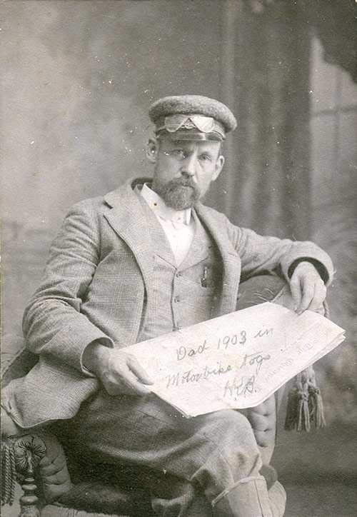 Melvin Bothwell, 1908 (original photo)