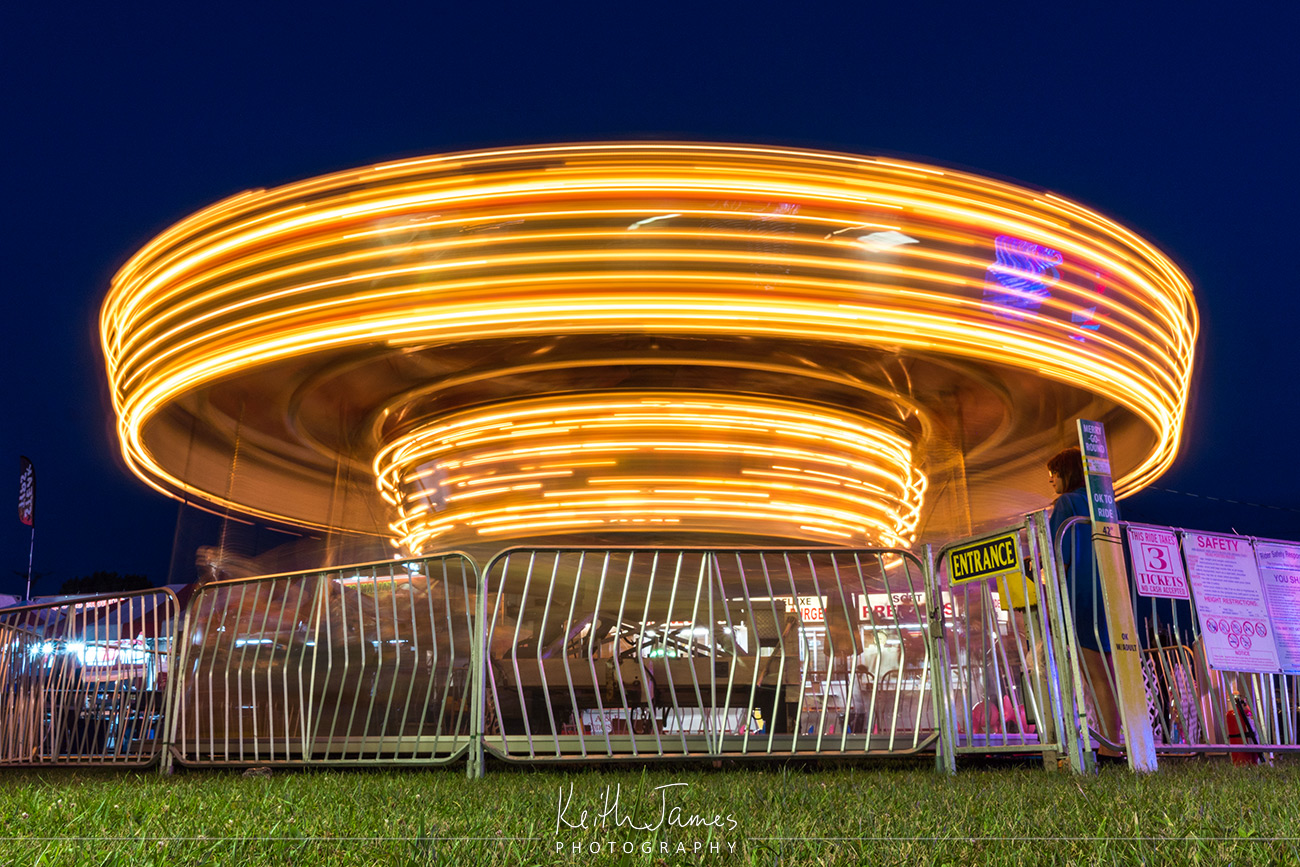 Night Photography: Merry-Go-Round