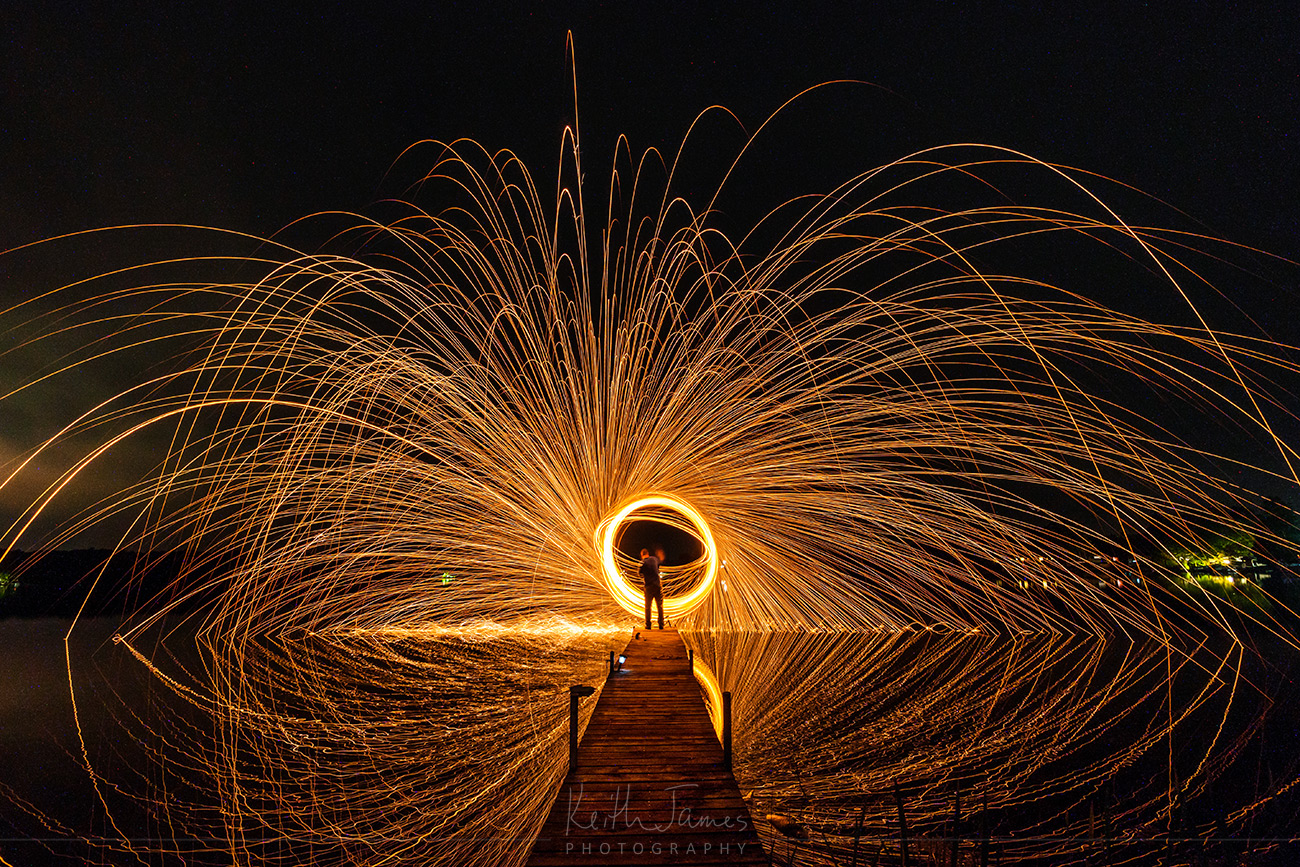 Night Photography: Spinning Steel Wool