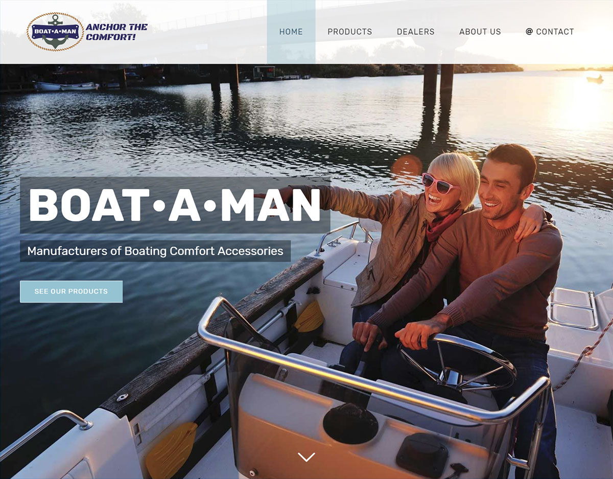 BOAT•A•MAN Boating Comfort Accessories