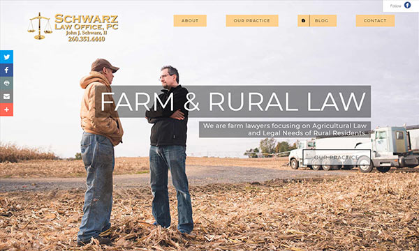 John Schwarz: The Farm Lawyer