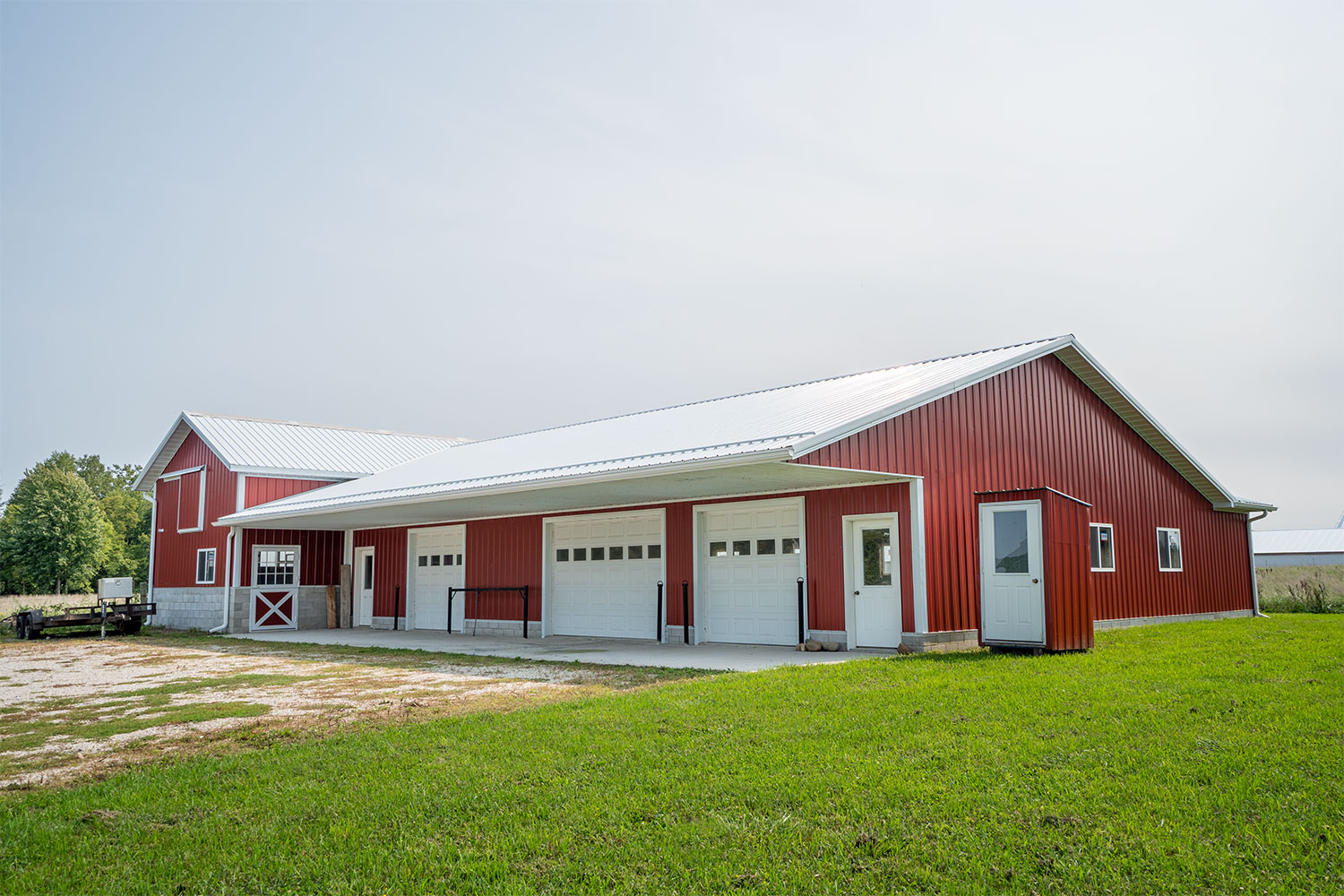 Real Estate Photography: Barn Exterior
