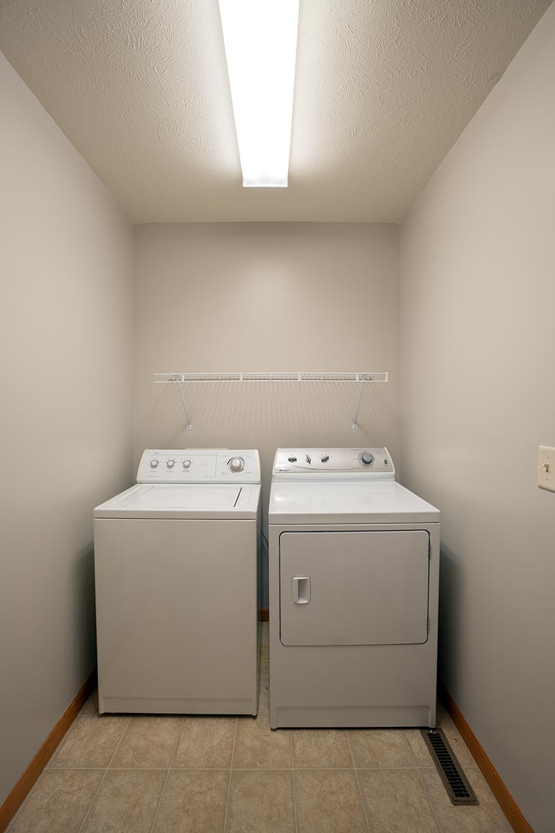 Real Estate Photography: Laundry Room