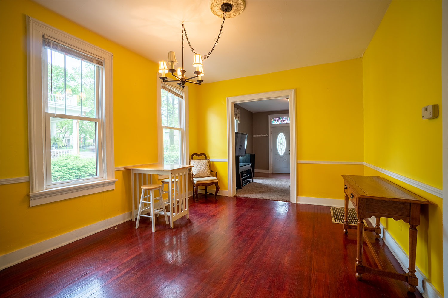 Real Estate Photography: Dining Room