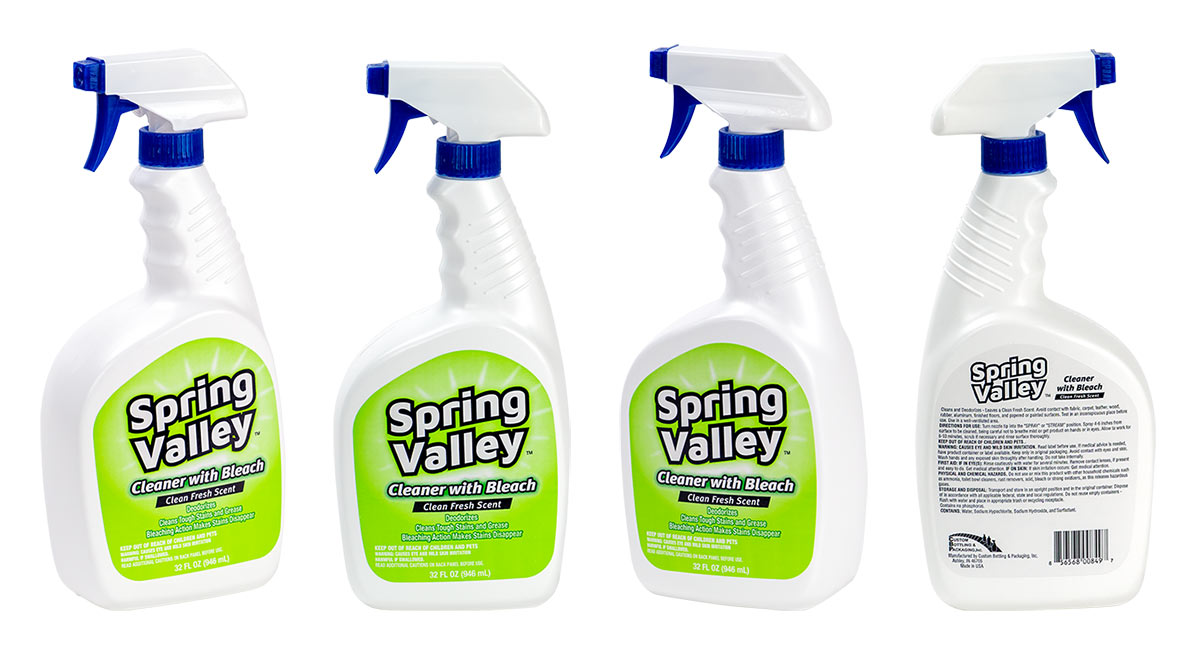 Product Photography: Cleaning Products